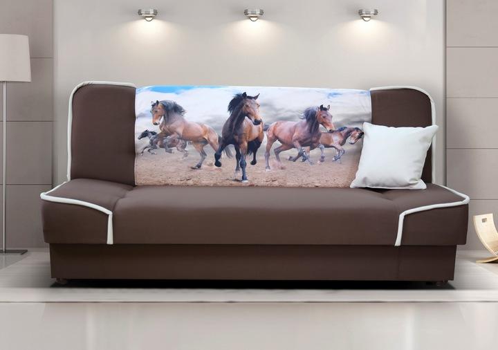 Молодежный диван кровать с фотопечатью