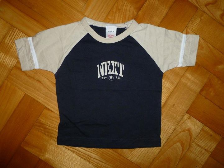 NEXT śliczna bluzeczka dla Smyka w roz. 68 9926627286 Dziecięce Odzież QS COOLQS-5