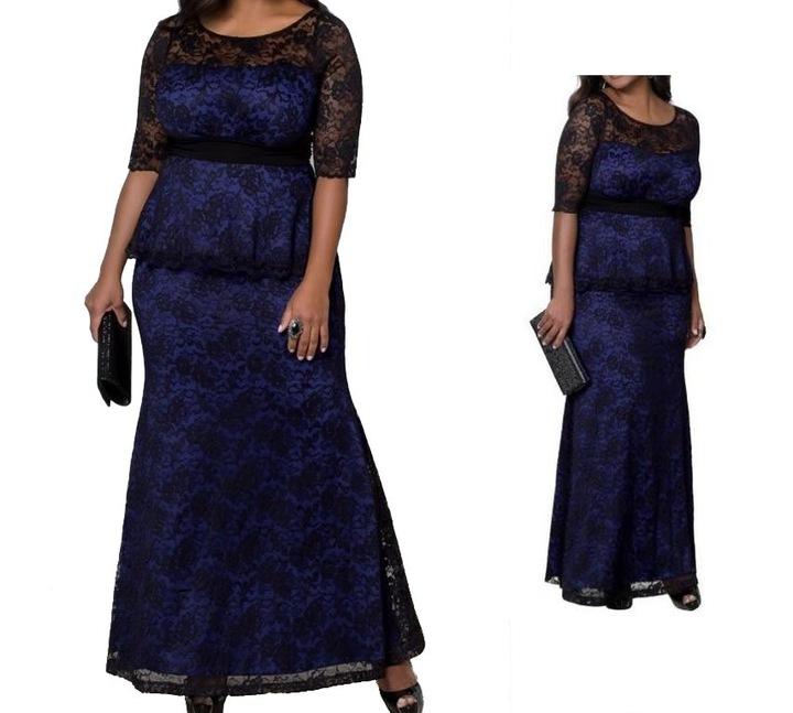 Suknia 2-czesciowa na wymiar rozmiary 44 do 60 7633057725 Odzież Damska Sukienki wieczorowe PS BPFZPS-9