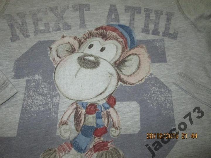 NEXT bluzka bawełniana MAŁPKA UNIKAT roz. 98 cm 9913126040 Dziecięce Odzież JJ WYUEJJ-1