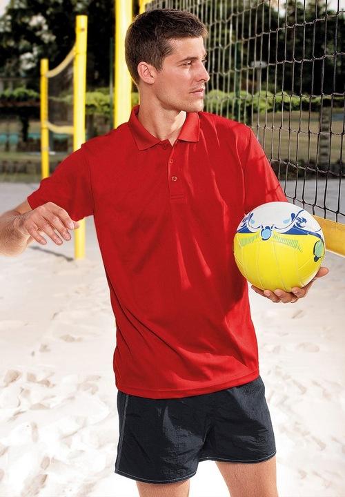 Koszulka polo sportowa ODDYCHAJĄCA Adler 217 S 7744246007 Odzież Męska Koszulki polo MO OCXZMO-6